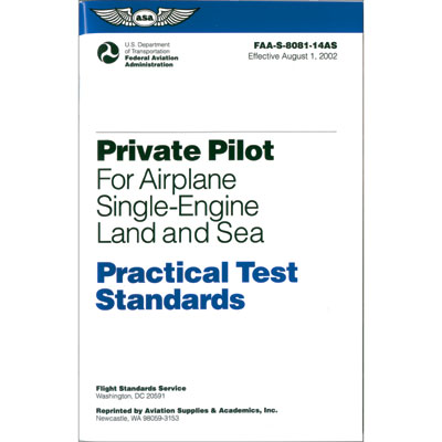 Private Pilot PTS